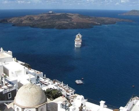 Paros not Santorini