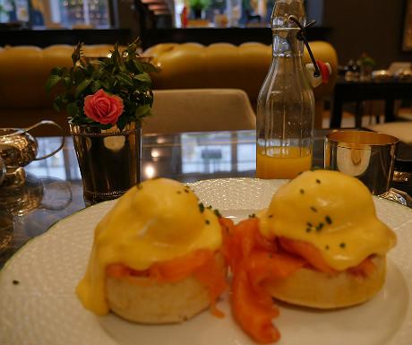 Rosewood London breakfast