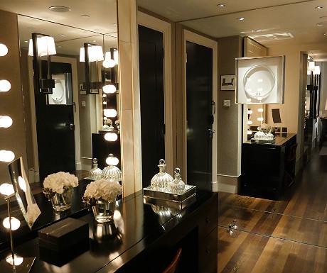 Rosewood London closet