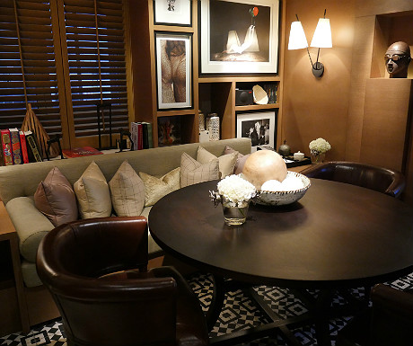 Rosewood London library