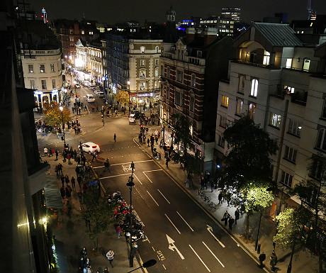 SACO Covent Garden apartment balcony view