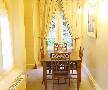 Stone Lodge dining room