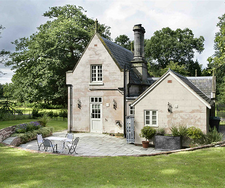 Stone Lodge from the garden