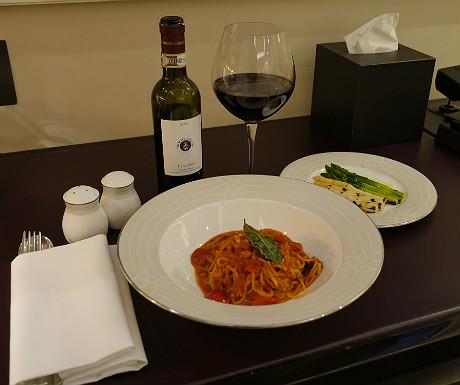 Wellesley room service