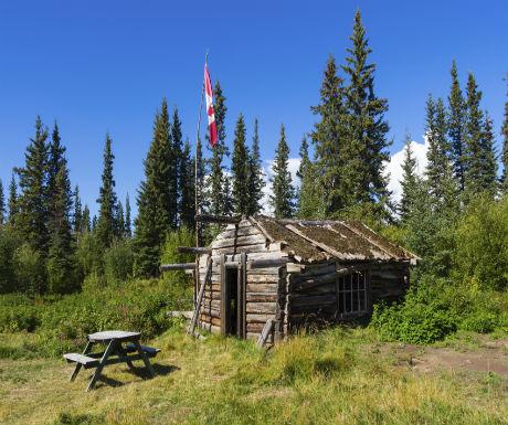 Yukon Gold Rush Hut
