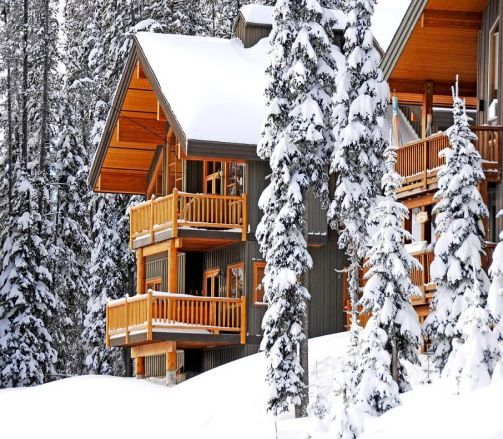 Big White Woodcutter cabins