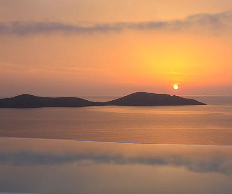 Elounda Gulf Villas sunrise
