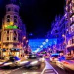 A bright Christmas and New Year in Madrid