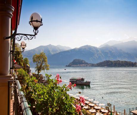 Grand Hotel Tremezzo view of Lake Como 2