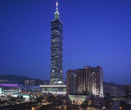 Grand Hyatt Taipei Exterior