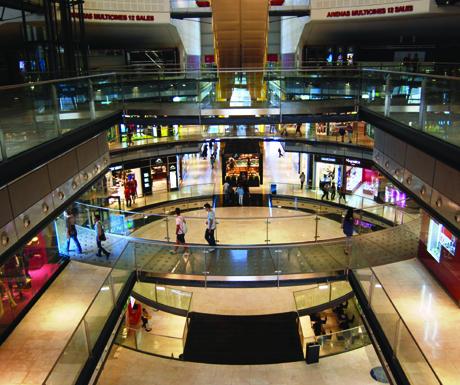 Las Arenas Barcelona Shopping
