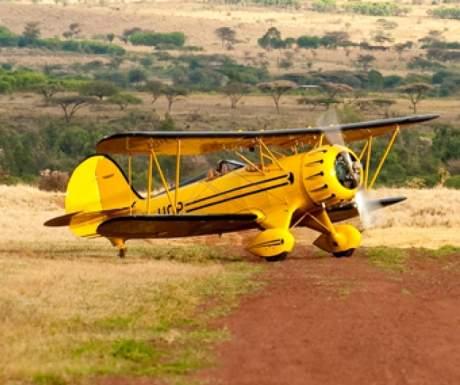 Lewa Biplane Will Craig