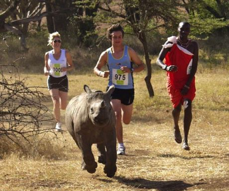 Lewa Marathon for TUSK Lewa Conservancy