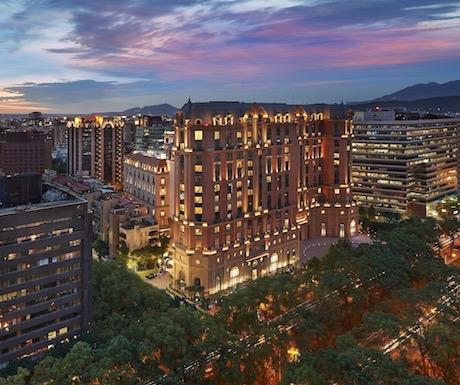 Mandarin Oriental Taipei Exterior Dusk