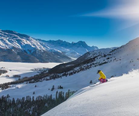 St Moritz Skiing