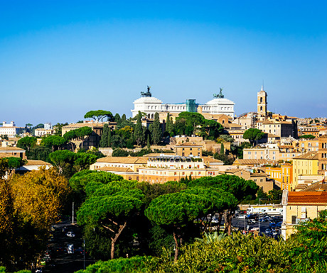 View from Parco degli Aranci