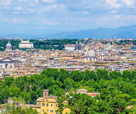 View from the Gianicolo
