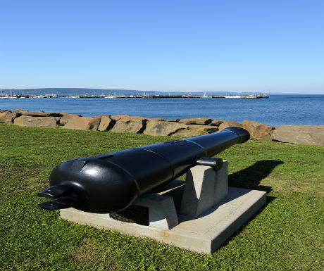 cannon by sea