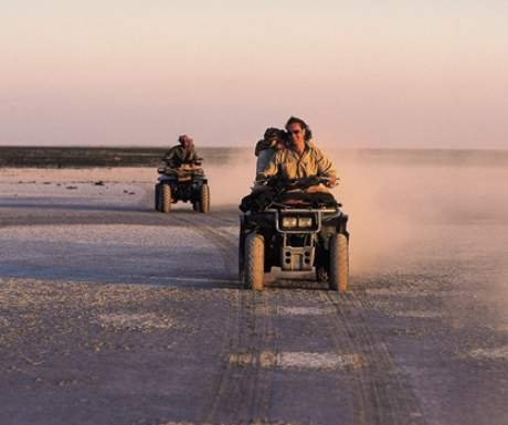 Jacks Camp Quad Biking Makgadikgadi