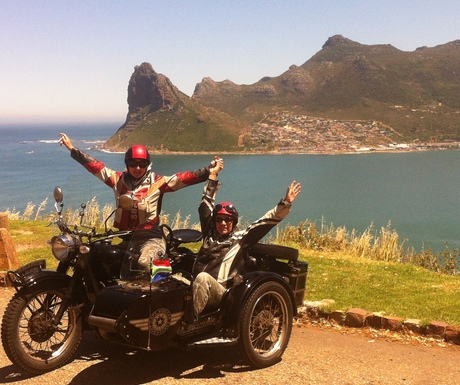 Cape Town Sidecar Tour