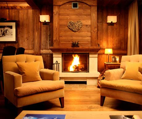Hotel Portetta Fireplace