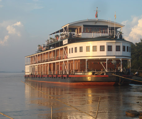 Cruise on the Irrawaddy