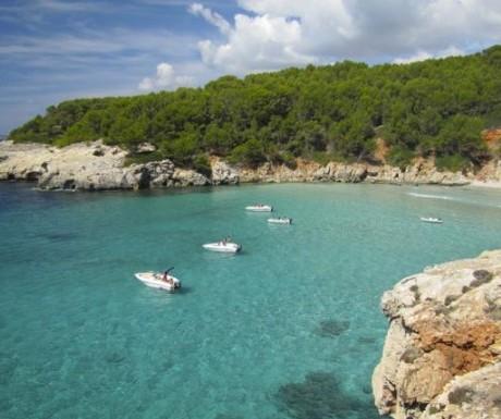 Menorca-Cala Boats
