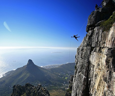 Table Mountain abseil