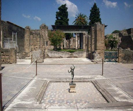 pompeii 4 house of the faun