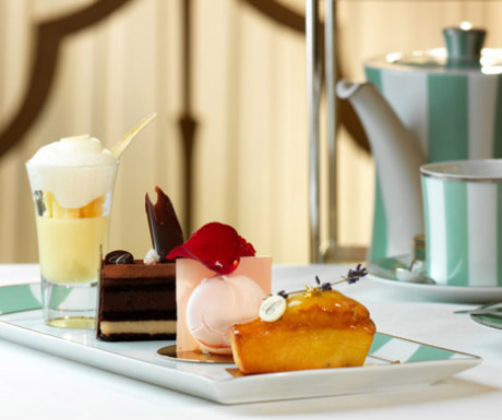 Afternoon tea at Claridges