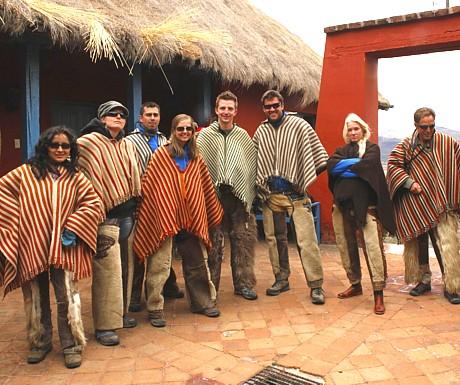 Andes - horseback riding