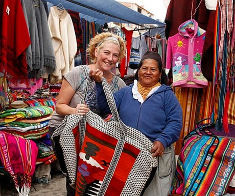 Andes local purchasing - market