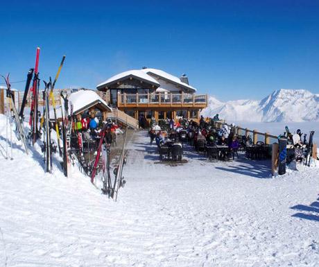 Mountain restaurant at 1650