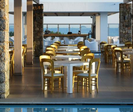 Emerald Main restaurant Diamond Delxue Hotel Kos