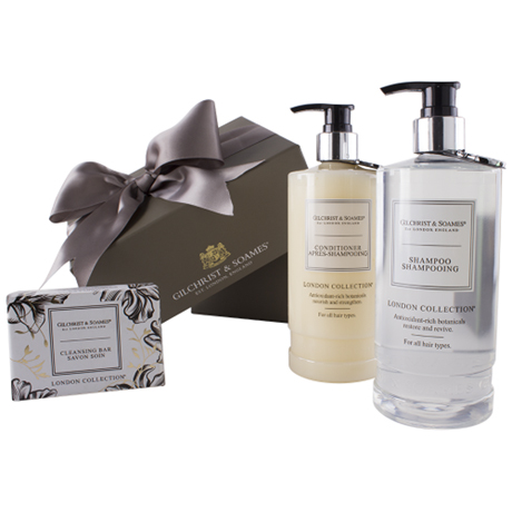 London Collection hair care set