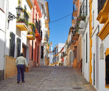 Ronda Spain charming streets-