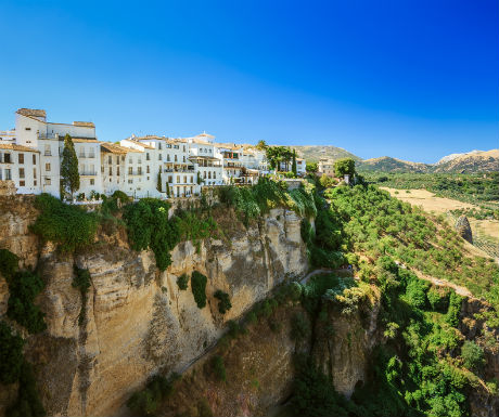 Ronda Spain stunning views-