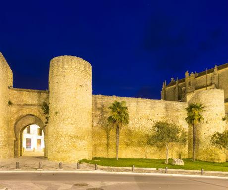 Ronda medieval walls