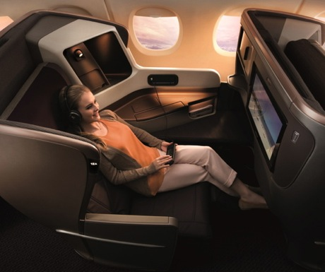 Singapore Business Class-777-300ER