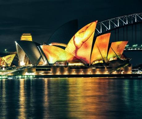 Sydney Opera House Vivid Festival