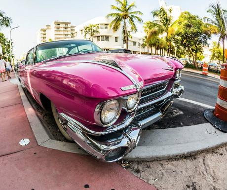 1960s Cadillac tour
