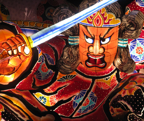 A-float-at-Aomori's-Nebuta-Festival