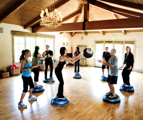 Cal-a-Vie Gym