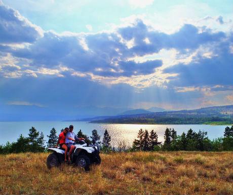 Chilko Experience adventure in beautiful settings