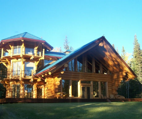 Chilko Experience architecture log homes