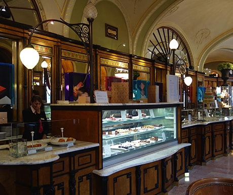 Gerbeaud pastry shop, Budapest