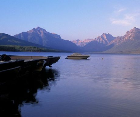 Glacier National Park Macdonald lake