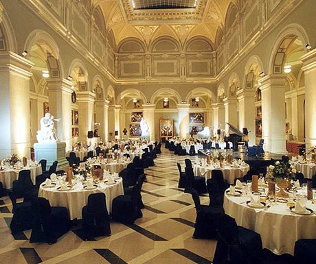 Gundel luxury restaurant, Budapest