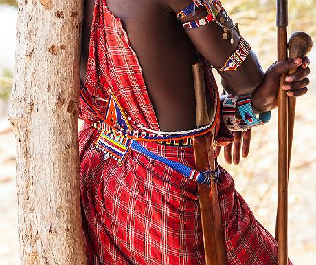 Masai close-up