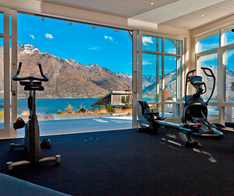 Matakauri Lodge Gym